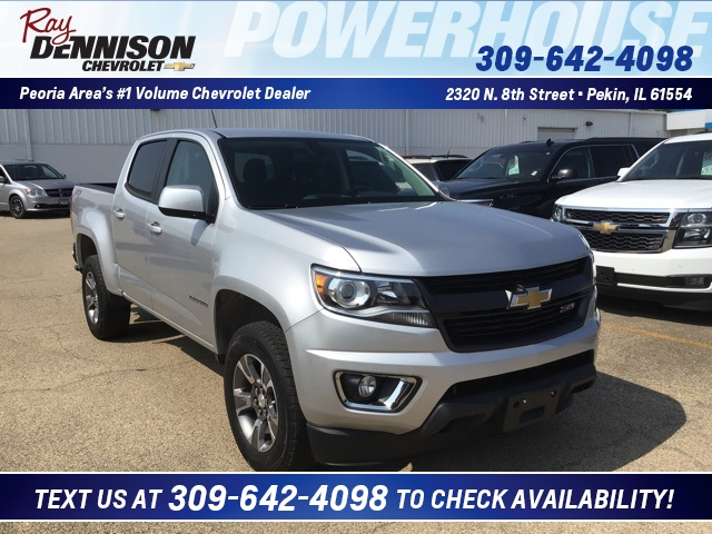 Certified Pre Owned 2017 Chevrolet Colorado Z71 4wd