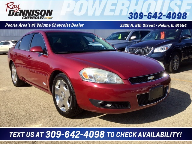 Pre Owned 2006 Chevrolet Impala Ss Fwd 4d Sedan