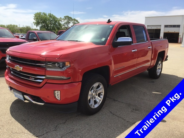 Certified Pre-Owned 2016 Chevrolet Silverado 1500 LTZ