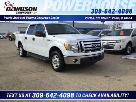 Pre-Owned 2012 Ford F-150 XLT RWD 4D SuperCrew