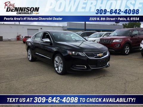 New 2019 Chevrolet Impala Premier With Navigation