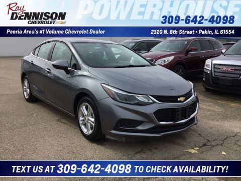 Pre-Owned 2018 Chevrolet Cruze LT FWD 4D Sedan