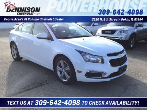 Pre-Owned 2015 Chevrolet Cruze 2LT