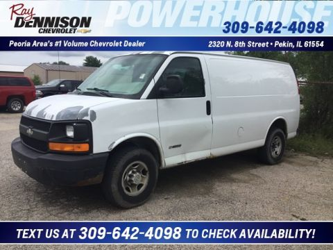 Pre-Owned 2005 Chevrolet Express Van G2500HD