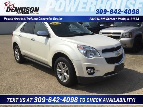 Pre-Owned 2013 Chevrolet Equinox LTZ FWD 4D Sport Utility