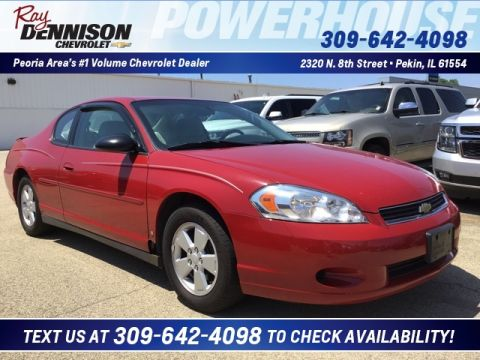Pre-Owned 2007 Chevrolet Monte Carlo LS